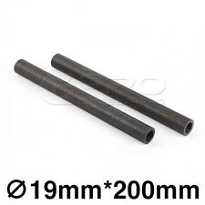 "CGPro 8""/200mm High Strength Carbon Fibre Rods (Pair) for 19mm Support System"