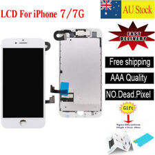 For iPhone 7 LCD Screen Touch Digitizer Display Full Assembly Replacement White