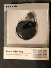 Belkin Travel 4-Ports External USB Hub