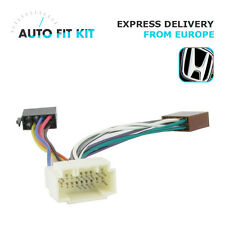 Honda 1999-> Wiring Lead Harness Adapter ISO Car Radio Stereo Replacement Plug