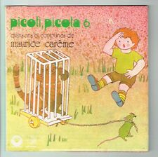 PICOTI PICOTA N°6 Vinyle 45T CHANSONS COMPTINES Maurice CAREME Chat PUZZLE