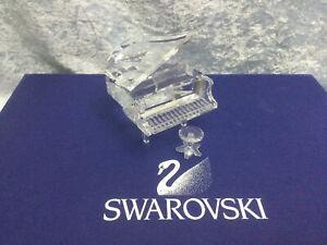 Swarovski Grand Piano with Stool - 7477000006 / 174506. Retired 2008. MIB