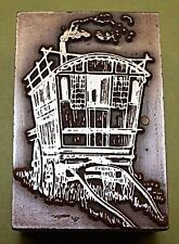 "HORSE DRAWN ""GYPSY CARAVAN"" PRINTING BLOCK.."