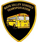 NAPA VALLEY SCHOOLS - TRANSPORTATION - CALIFORNIA CA CAMPUS Police Sheriff Patch