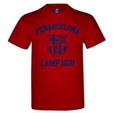 Magliette e maglie rossi con logo a manica corta per bambini dai 2 ai 16 anni