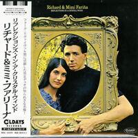RICHARD & MIMI FARINA-REFLECTIONS IN A...-JAPAN MINI LP CD BONUS TRACK C94
