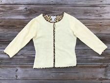 Banana Republic Women Sweater Wool Angora Rabbit Hair Silk Lining Cardigan Sz Xs