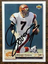 BOOMER ESIASON HAND SIGNED AUTO ON UPPER DECK  CARD  / IN PERSON @ FLA