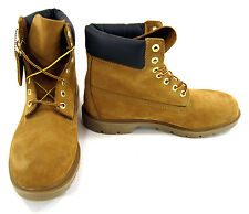 Timberland Boots 6 Inch Premium Waterproof Wheat/Brown Shoes Size 10