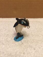 1987 Sea World Porpoise/Whale Keychain Add On