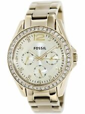 Fossil Women's Riley ES3203 Gold Gold Tone Stainles-Steel Analog Quartz Fashi...