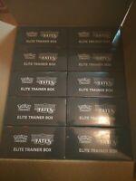 Case of 10x Hidden Fates Elite Trainer Box SEALED Pokemon ETB - IN HAND
