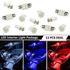 13pcs White LED Interior Lights T10 31MM for Map Dome License Plate Lights Kit