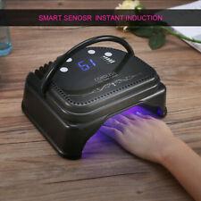 Cordless Rechargeable 64W Led Nail Lamp Dryer Machine Smart Sensor Manicure Gift