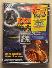 COMPLETE STAR WARS Trilogy UK Tazos Collectors Force Pack 1996 NOT Episode VII 7