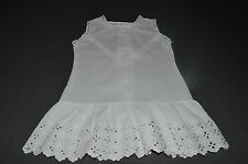 LOT DE 3 PETITES ROBES ANCIENNES BRODERIE ANGLAISE