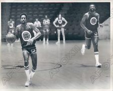 1978 Kevin Porter and Bob Lanier Detroit Pistons Basketball Press Photo