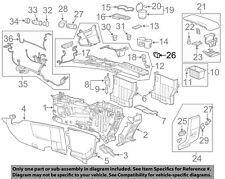 GM OEM Center Console-Auxiliary Radio Stereo Input Jack 22836649