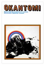 Cuban movie Poster.OKANTOMI.Cuban Orisha art.AfroCuban Religion art.Room Decor