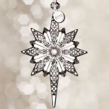 """Waterford Crystal 2018 Snowstar 5.3"""" Ornament"""