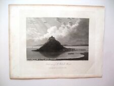 St Michael's Mount, views from East, South and North (published May Ist, 1813)