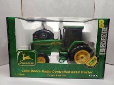 Ertl Rc John Deere 8310 Tractor 1/16 in Box 27 Mhz Radio Controlled