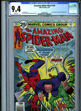 Amazing Spider-Man #159 (1976) Marvel CGC 9.4 White Pages Doctor Octopus