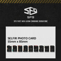 SF9 - 1ST MINI ALBUM BURNING SENSATION SELFIR PHOTO CARD TAEYANG CHANI DAWON