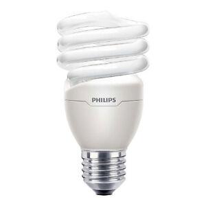 20W CFL Philips Tornado Energy Saving Light Bulb Warm White 2700k Spiral E27