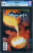 BATMAN #22 CGC 9.8 - BATMAN ORIGIN RETOLD - FIRST PRINT - ZERO YEAR - SUPER HOT