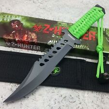 """11.75"""" Z-HUNTER Outdoor SURVIVAL Camping Fixed Blade BOWIE Knife With Sheath"""