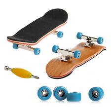 Complete Wooden Fingerboard Finger Skate Board Sport Game Kids Children Toy Gift