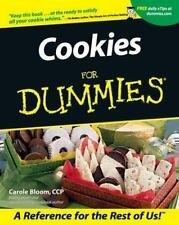 Cookies for Dummies by Carole Bloom (2001, Paperback)