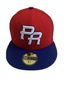 New Era Puerto Rico 🇵🇷 💯% Authentic WBC Baseball ⚾️ Team Hat 7 1/2