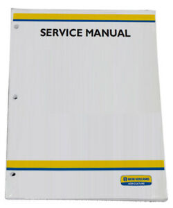 New Holland Boomer 33, 37 Tier 4B Tractor Service Repair Manual