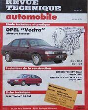 Revue technique OPEL VECTRA GL GLS CD GT moteurs essence 515 1990 + CITROEN CX