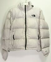 North Face Womens Active Gray 1996 Retro Nuptse 700 Down Hiking Jacket Parka M
