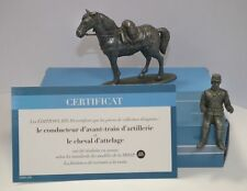Atlas Edit Ww I Die Cast French He03 Artillery Train Leader on Horseback'14 Nib