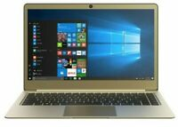 "Linx 14"" UltraSlim Full HD Intel Pentium Quad Core 64GB 4GB Win 10 Gold Laptop"