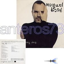 """MIGUEL BOSE """"MAY DAY"""" CDsingolo PROMO SPAGNA"""