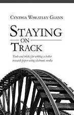 Staying on track: Tools and tricks for writing a better research paper using ele
