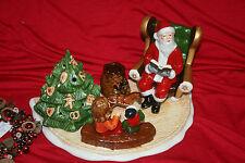 Villeroy & Boch Christmas Toys Szene Santa mit Buch