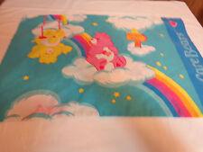 Care Bears Pillow Case Rainbow Clouds Sunshine VIntage