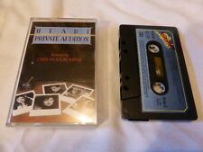 HEART   PRIVATE AUDITION   CASSETTE   1982  40-85792