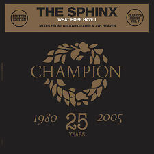 "Classics Series Vol 7 The Sphinx - What Hope Have I - 12"" Vinyl Record + CD"