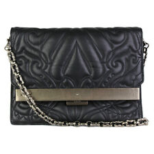 Alexander Wang Black Grained Matelasse Leather Purse Clutch Bag
