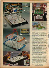 1975 ADVERTISEMENT Game Hockey Bobby Orr Stanley Cup Pro NHL Teams World Soccer