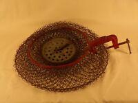 Vintage Clamp On Boat Fish Creel Basket Fishing Basket Made in France