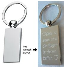 Schlüsselanhänger graviert ❤ Gravur Geschenk ❤ Valentinstag Muttertag Geburtstag