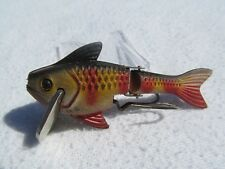 """Vintage AIREX Pixie Minnow 2-3/4"""" Jointed Fishing Lure"""